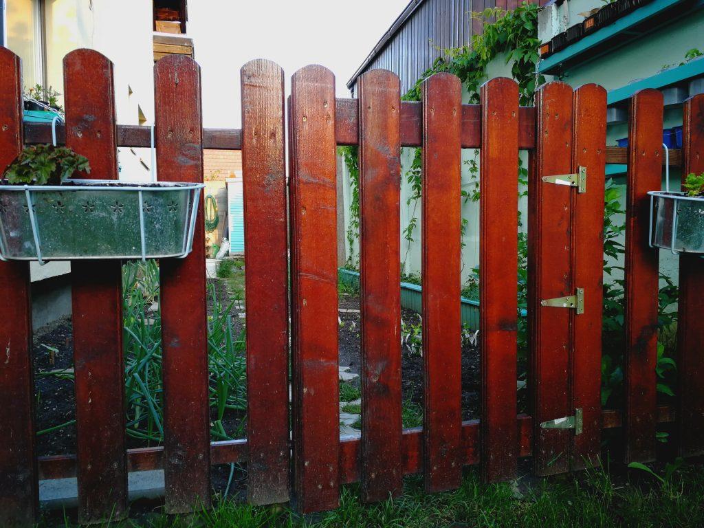Următoarea etapă în organizarea grădinii: delimitarea spațiului