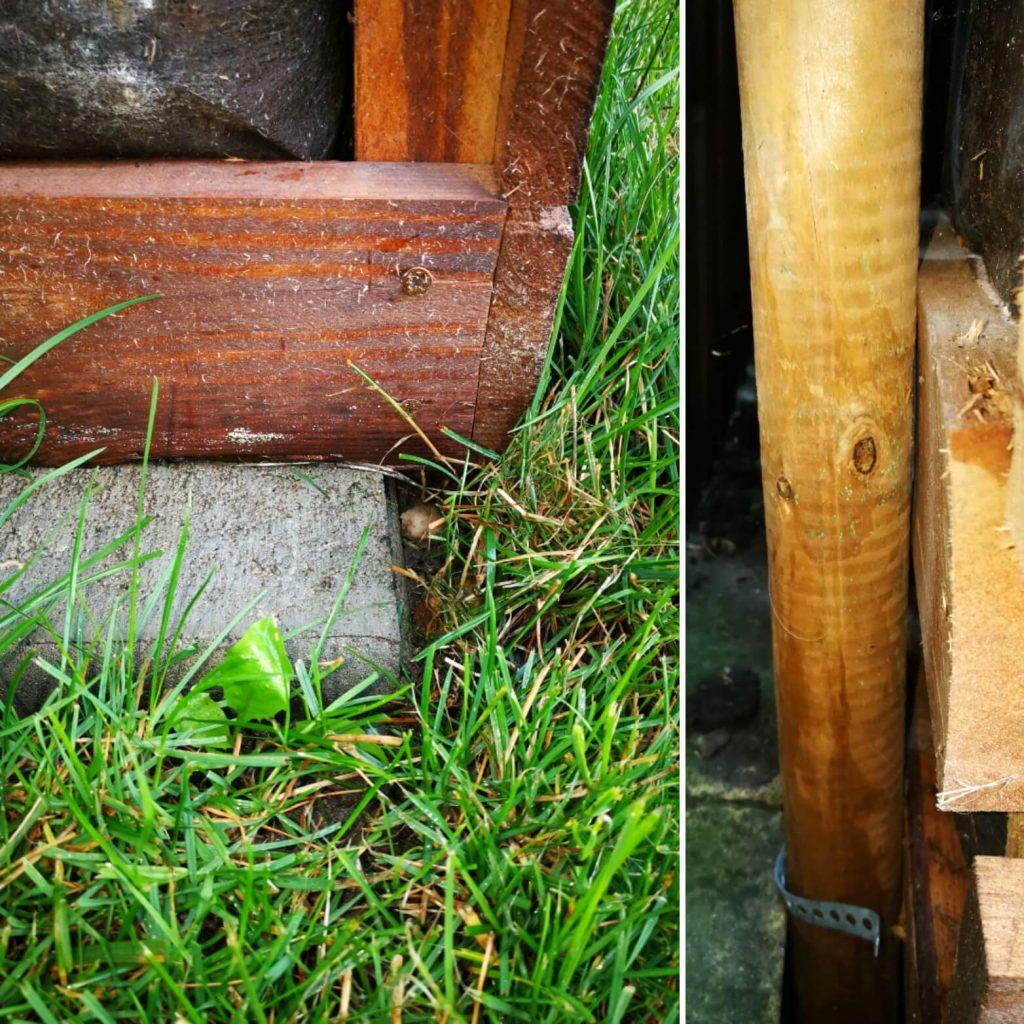 Stabilizarea lăzii din lemn pentru cultivarea pe verticală