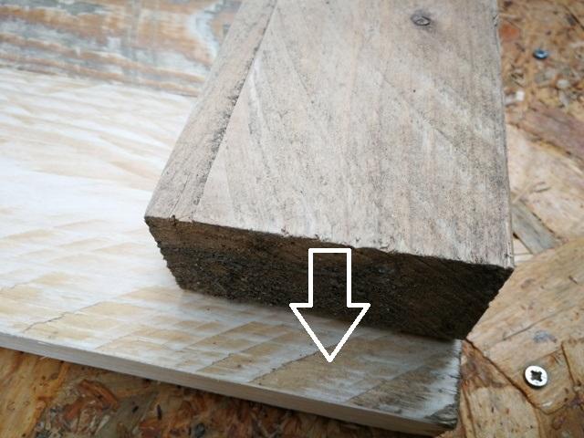 Evidențierea poziției stâlpilor pe lateralele lăzii